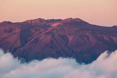 sunset observatory telescope telephoto astronomy telescopes maunakea observatories maunaloa