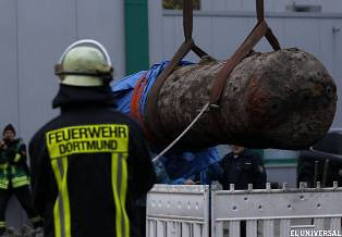 Bomba desactivada en Dortmund