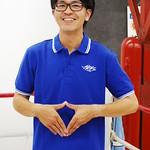 カタカナロゴver2 ロゴ刺繍ポロシャツ ロイヤルブルー
