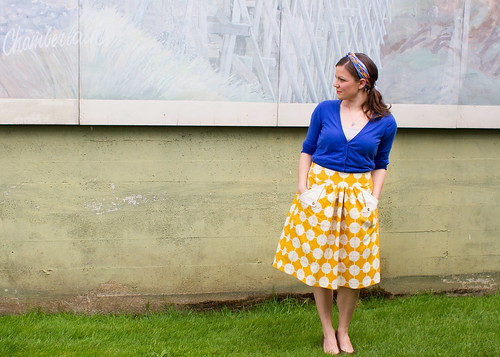 flap pocket skirt for vintage may | by skirt_as_top