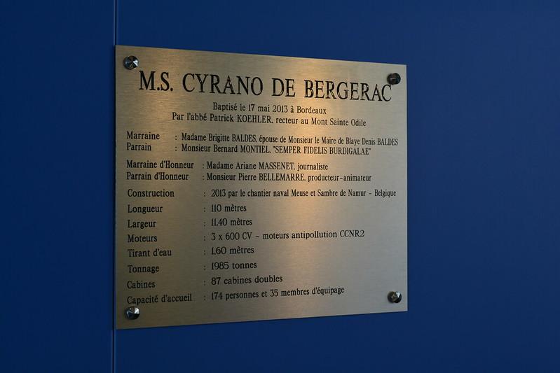 Visite du MS CYRANO DE BERGERAC - 17 mai 2013 - Bordeaux