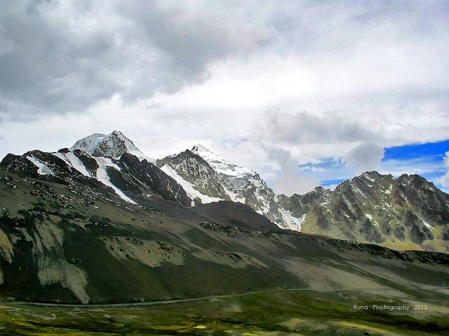 Perfil del Huayna Potosí