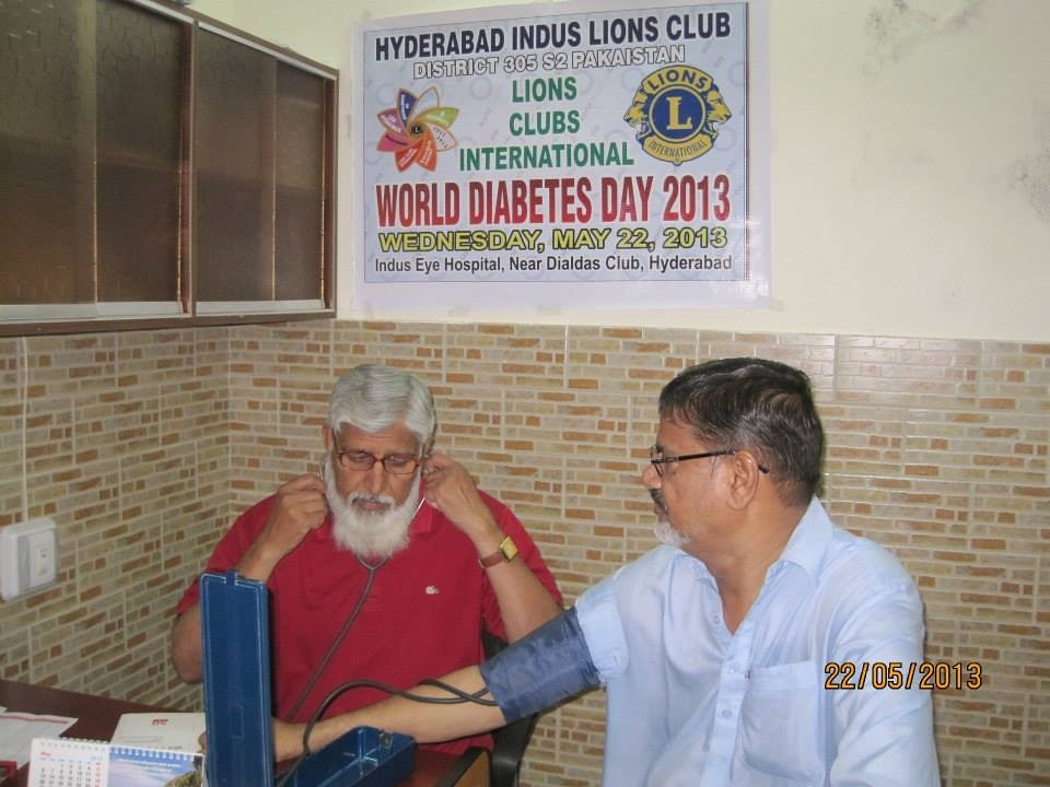 Hyderabad Indus Lions Club | Pakistan - Lions arranged free