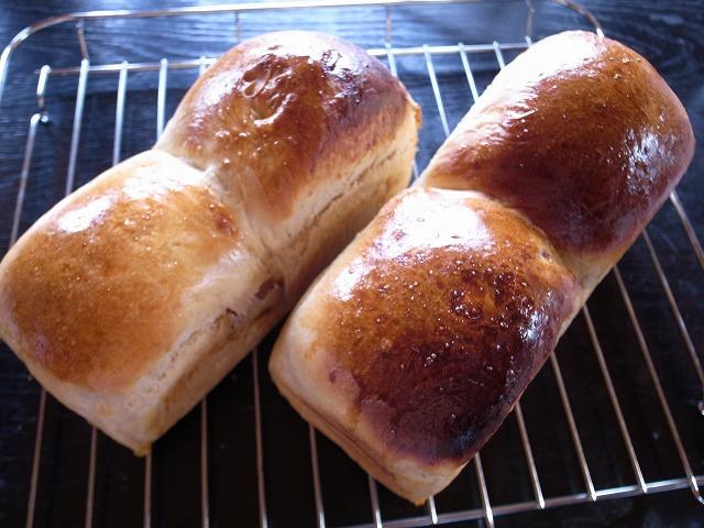 <p>g)500gの小麦粉で1斤のパンが2本作れます</p>
