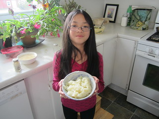 Olivia with Mashed Potatoes | by Pictures by Ann