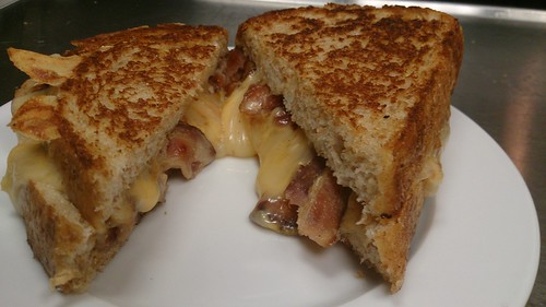 Gourmet Grilled Cheese & Bacon Sandwich | by CLNH Lunchbox Cafe