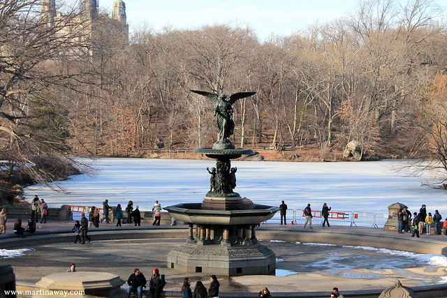 Bethesda Fountain, serie tv New York