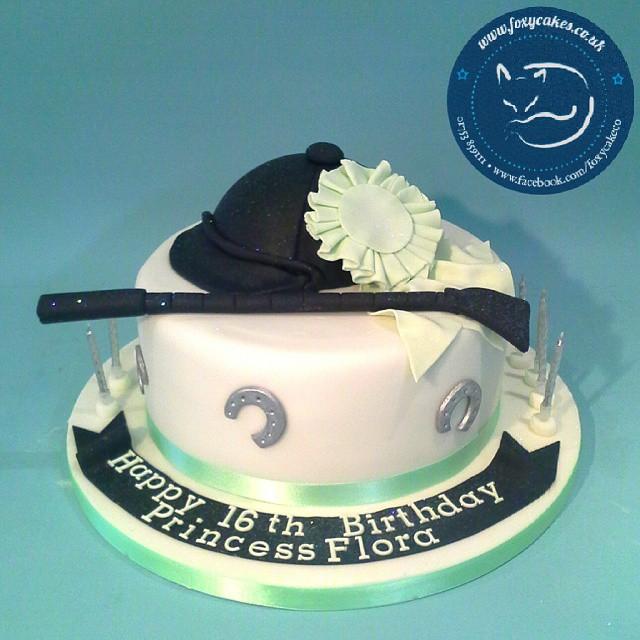 Peachy Horse Themed Birthday Cake Cake Thefoxycakeco Windsor Flickr Personalised Birthday Cards Veneteletsinfo
