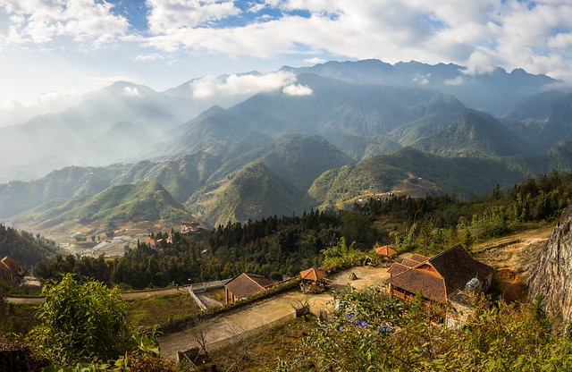 Stunning View of Sa Pa in North of Vietnam