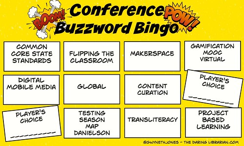Conference_Buzzword_Bingo | by The Daring Librarian