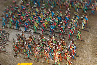 Colorful soldiers