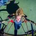 Having Fun on a Playground Swing by nan palmero