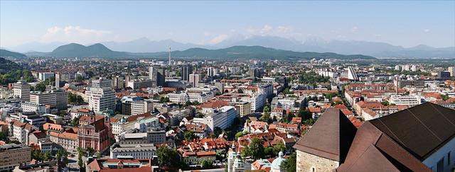 Panorama de Ljubljana