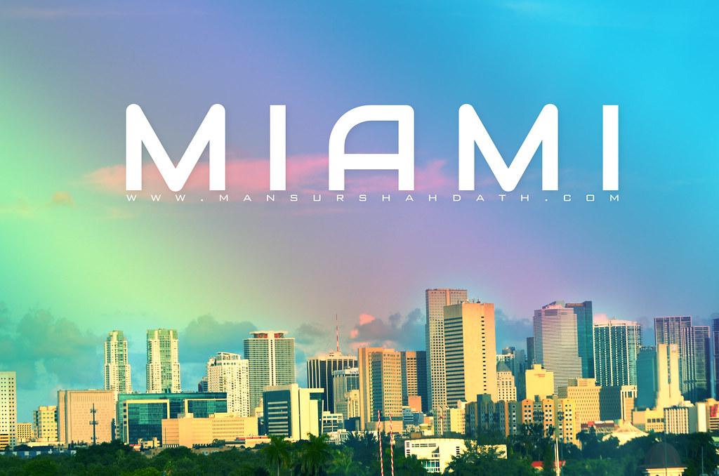 Miami Hd Wallpaper Taken From 836 Expressway Bengali Bum