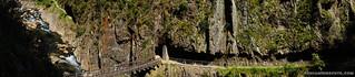 Panorama of Karangahake Gorge | by Benjamin Beck