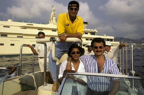 Prince al Waleed bin [[Talal bin Abdulaziz al Saud]] and his ex wife (cousin) Princess Dalal bint [[Saud bin Abdulaziz]] | by Tribes of the World