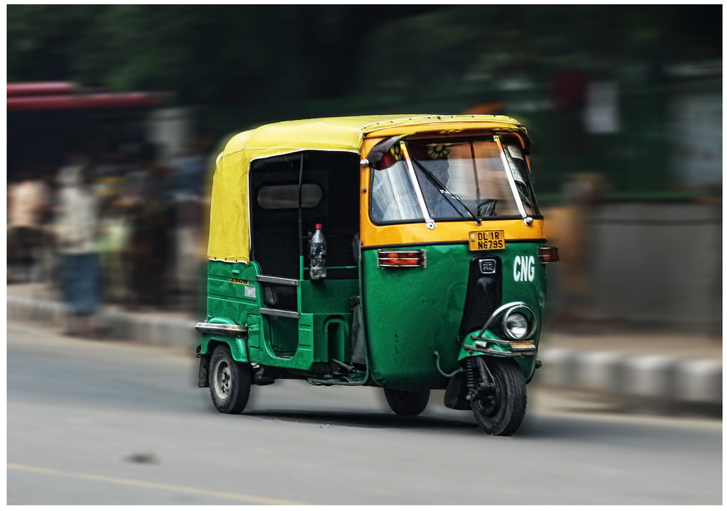 Delhi IND - CNG Auto rickshaw Tuk Tuk   CNG Auto rickshaw Tu…   Flickr