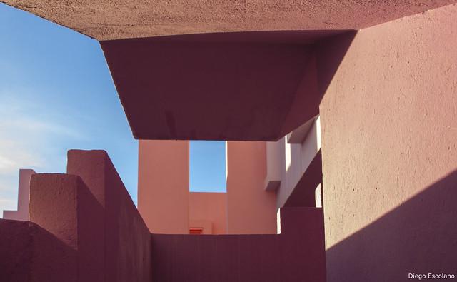 La Muralla Roja, Calp. Ricardo Bofill, arq.