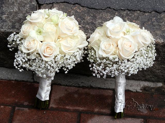 Lancio Bouquet Sposa.Bouquet Da Sposa E Bouquet Da Lancio Con Rose Vendella E G Flickr