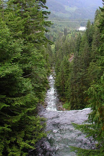 Brandywine Falls Park, Whistler, Sea to Sky Highway, British Columbia, Canada