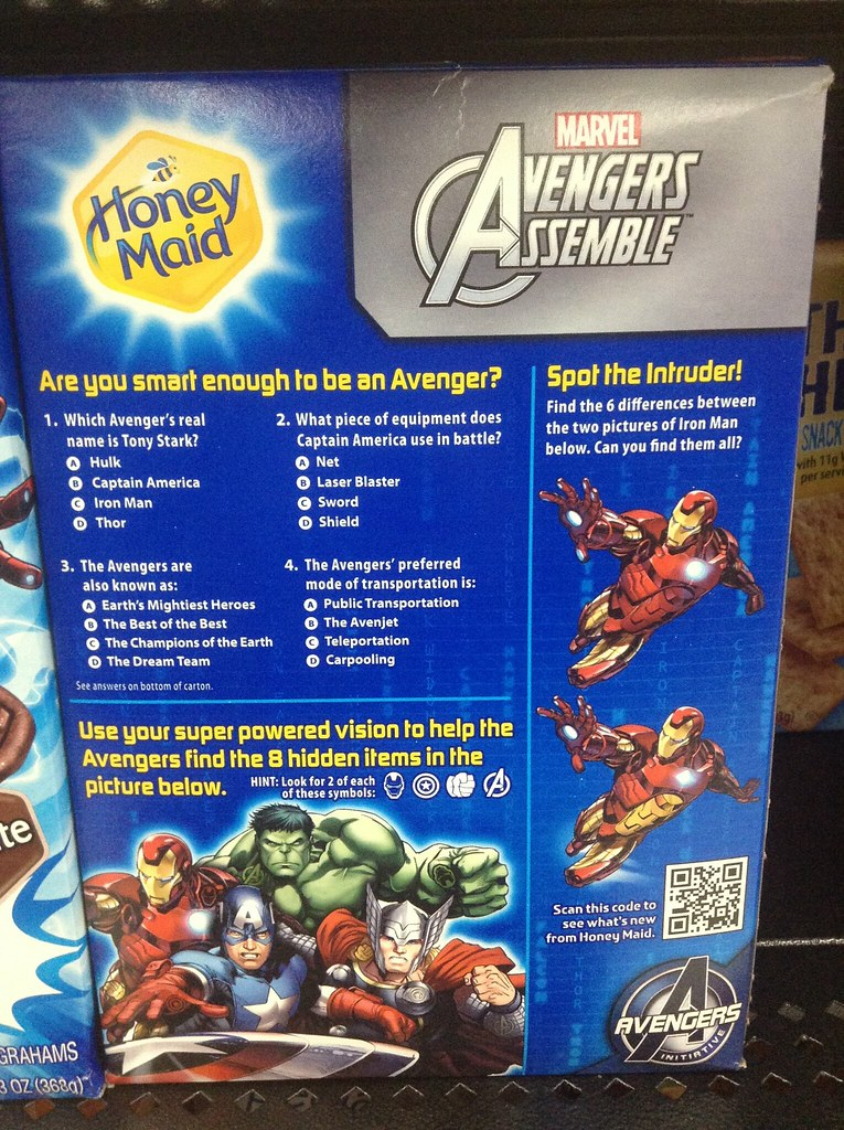 Avengers Honey Maid Grahams | Avengers Honey Maid Grahams at… | Flickr