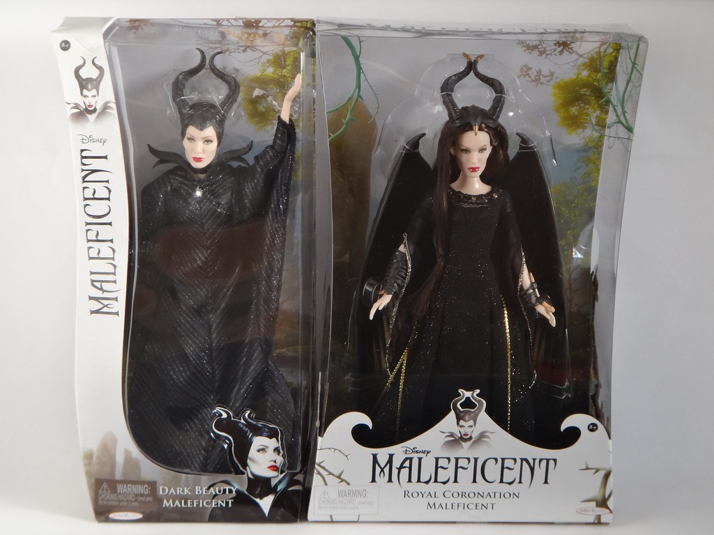 Dark Beauty And Coronation Maleficent Dolls Disney Malef