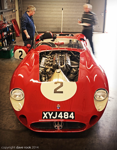 Mark Knopfler's 1957 Maserati 300S - 2014 Donington Historic Festival | by Motorsport in Pictures