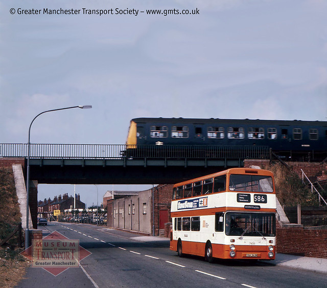 Bus/rail integration - or maybe not - at Glazebury