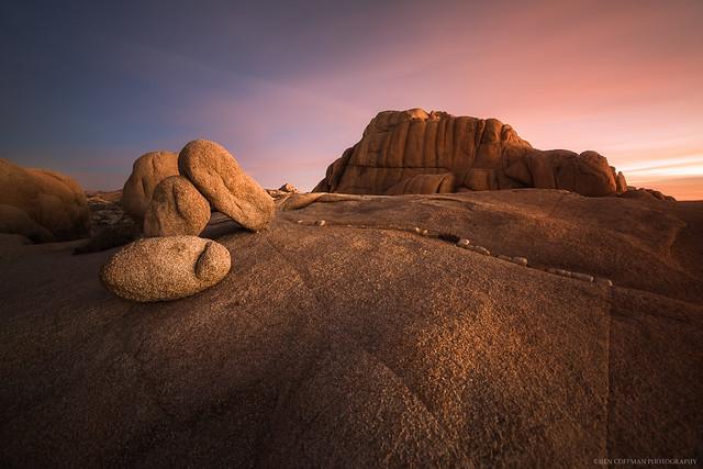 Jumbo Rocks morning 1