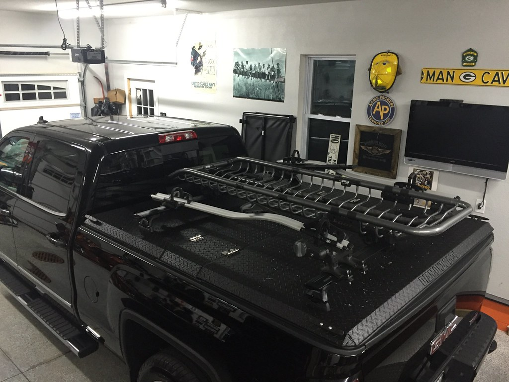 Diamondback Tonneau Cover >> A Rack System And Truck Bed Cover On A Chevy/GMC Silverado… | Flickr