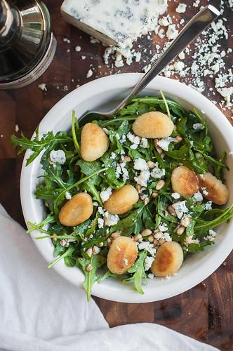 10 minute gnocchi salad | by tessascotolson