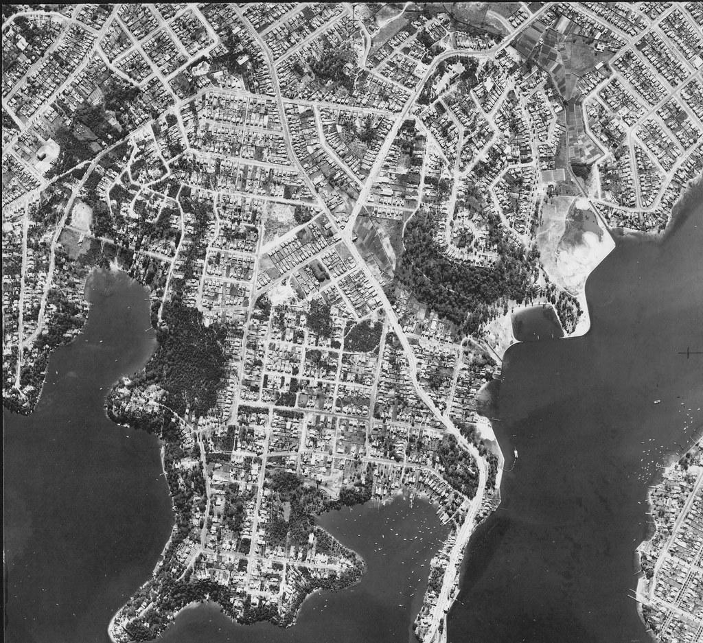 Blakehurst, Sydney  1953 - aerial photo