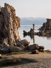 Mono Lake-tufa relections