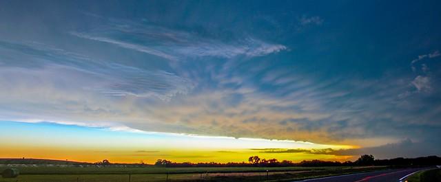 081315 - Mid August Nebraska Thunderstorms (Pano)