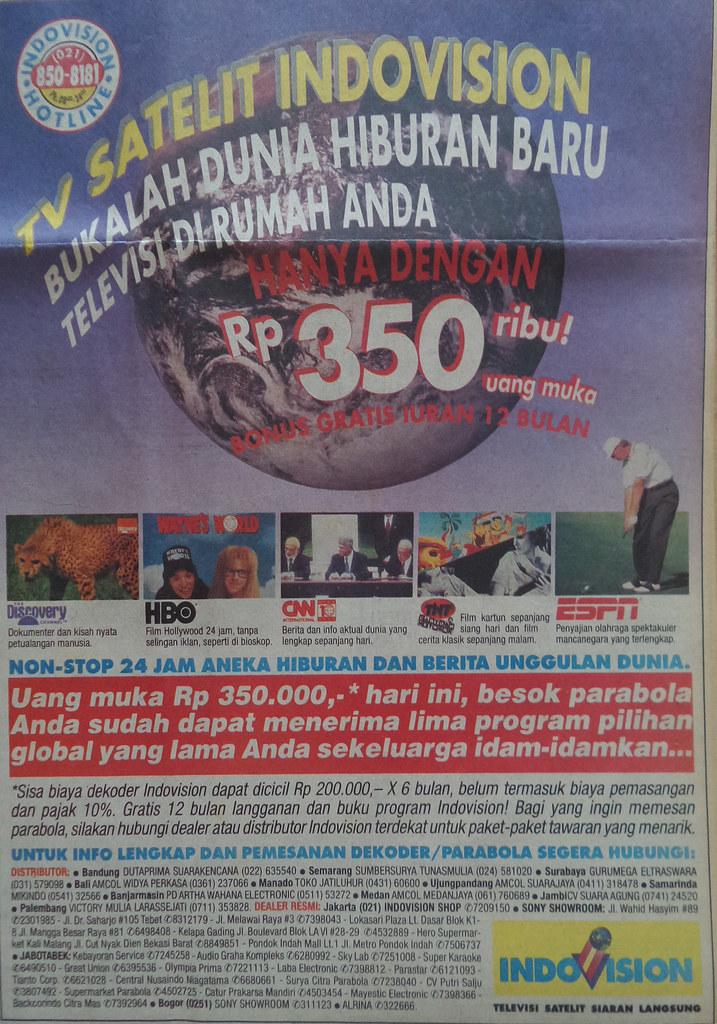 Indovision, Kompas 13 Juni 1995