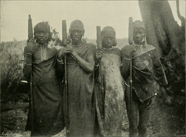 "Image from page 122 of ""Elephant-hunting in east equatorial Africa; being an account of three years' ivory-hunting under Mount Kenia and among the Ndorobo savages of the Lorogi Mountains, including a trip to the north end of Lake Rudolph"" (1898)"