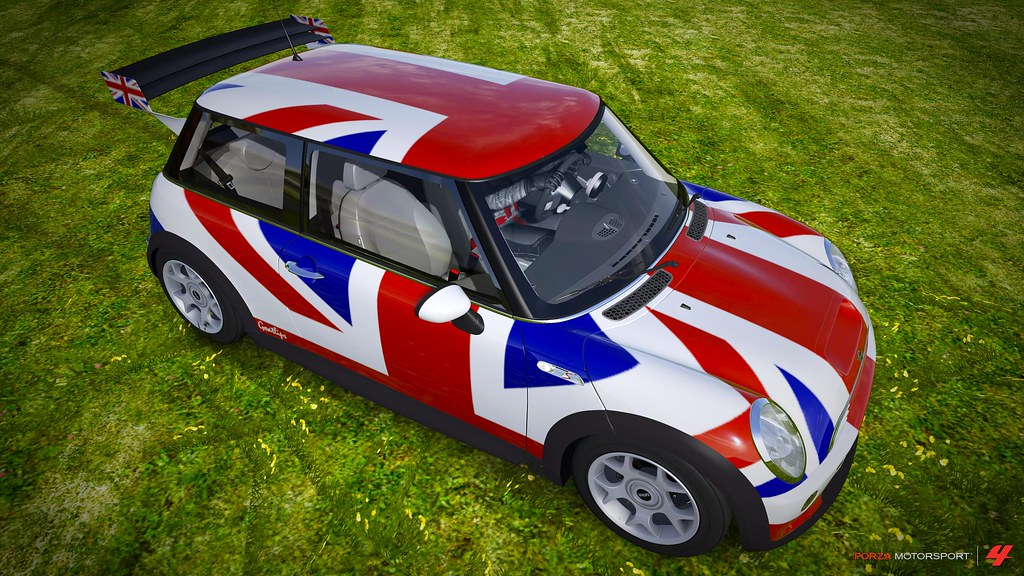 Mini Cooper Union Jack Mini Cooper S 2003 Cgi From Forza Flickr