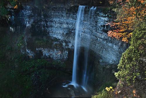 autumn ontario canada waterfall hamilton falls autumncolours tewsfalls lifeng canon5dmarkiii 2470mmf28lii genusvariablendfiltergndf82