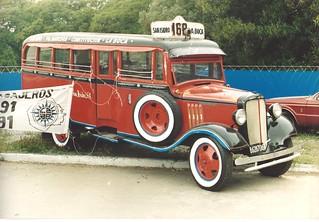 1935 Chevrolet bus
