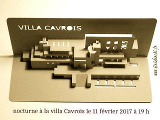 nocturne villa Cavrois  le samedi 11 février 2017 à 19h
