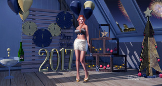 •633 HAPPY NEW YEAR 2017   by Kah Blaisdale • Way poses   CreativitySL