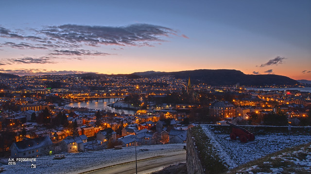 Outlook across Trondheim