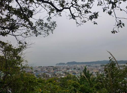 2013/11/09 (土) - 15:51 - 裏山からみた鎌倉の海