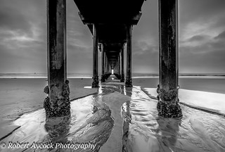 SCRIPPS PIER BLACK AND WHITE | by Robert Aycock