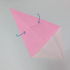 สอนการพับกระดาษเป็นลูกสุนัขชเนาเซอร์ (Origami Schnauzer Puppy) 006