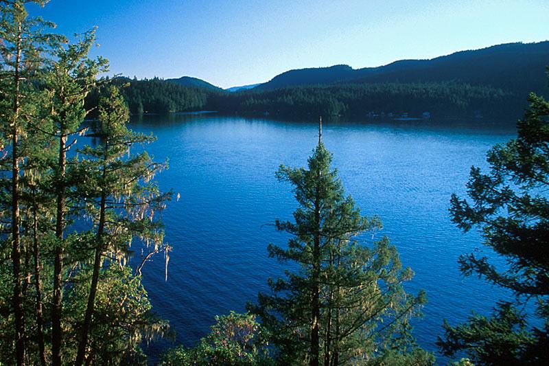Ruby Lake, Earls Cove, Sechelt Peninsula, Sunshine Coast, British Columbia, Canada
