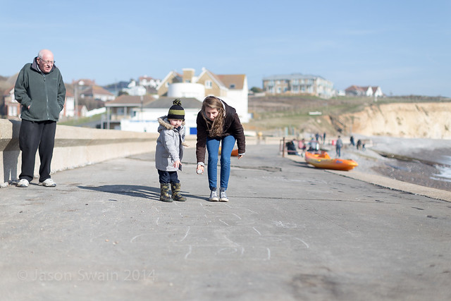 Family time at Freshwater Bay - IMG_2967