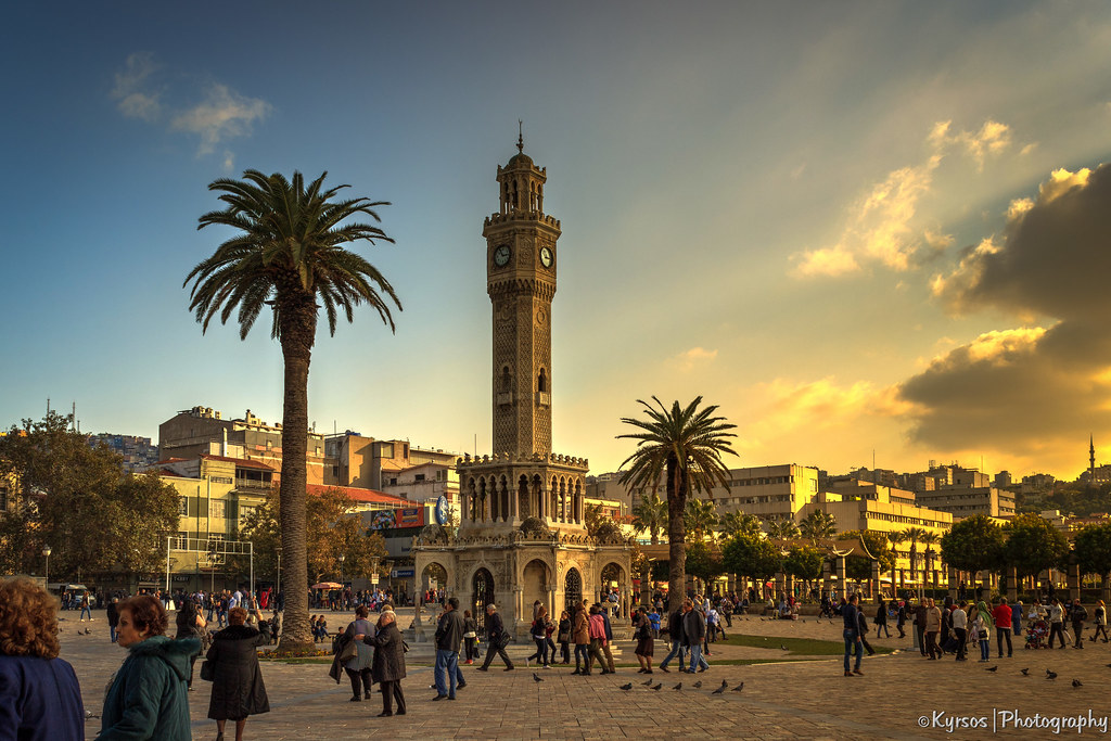 The Clock Tower (Izmir, Turkey)