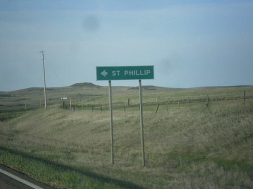sign montana intersection wibauxcounty biggreensign mt7 mts413