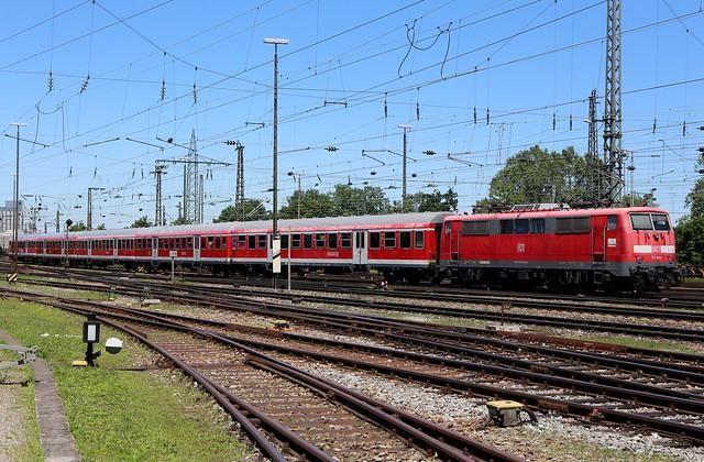 DB Regio 111 064-2 RE, Basel Bad Bhf
